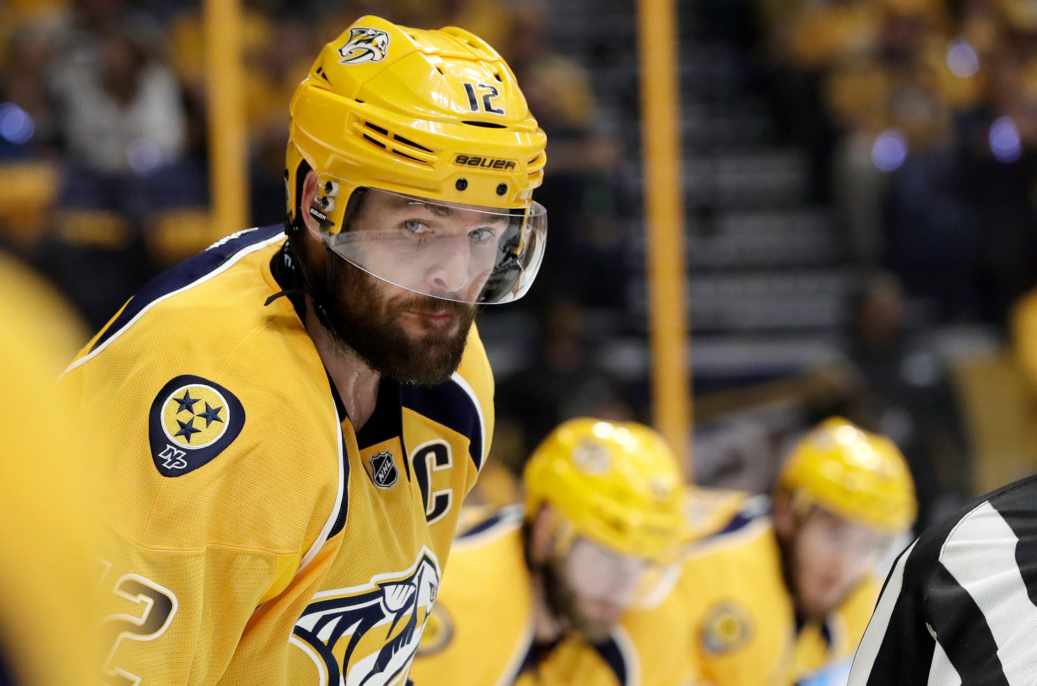 Carrie Underwood's Husband Mike Fisher is Back in the National Hockey League