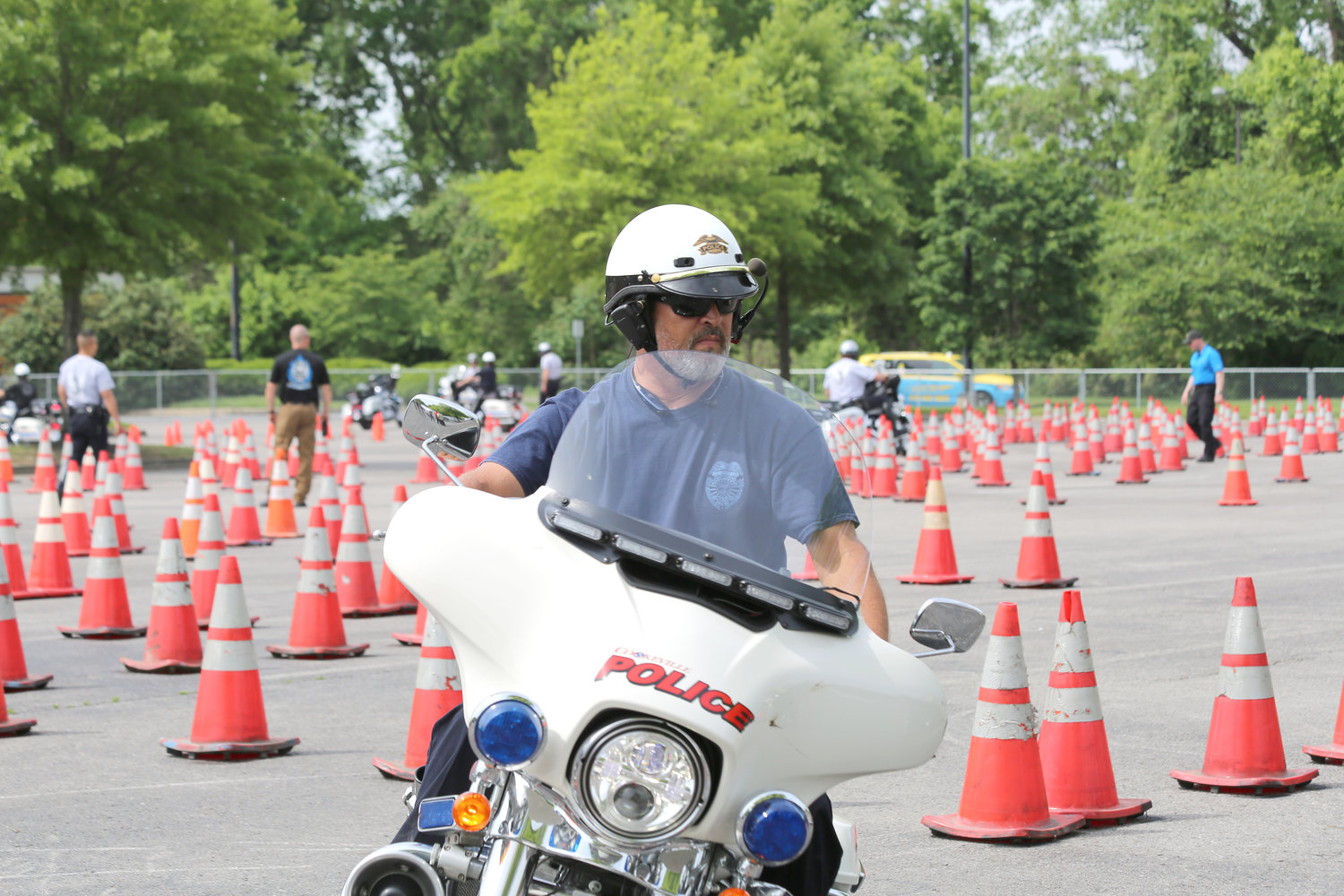 Officers promote Motorcycle Awareness Month | Herald Citizen
