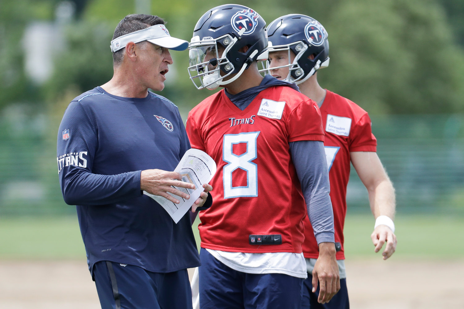 d7e189de Minicamp starts with Titans working, no contract holdouts | Herald ...