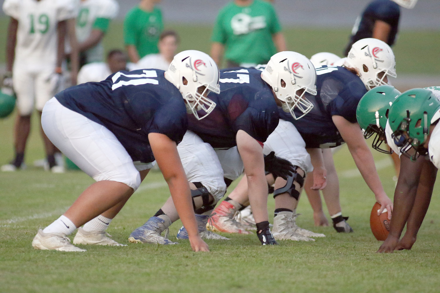High school football teams hold first scrimmages | Herald Citizen