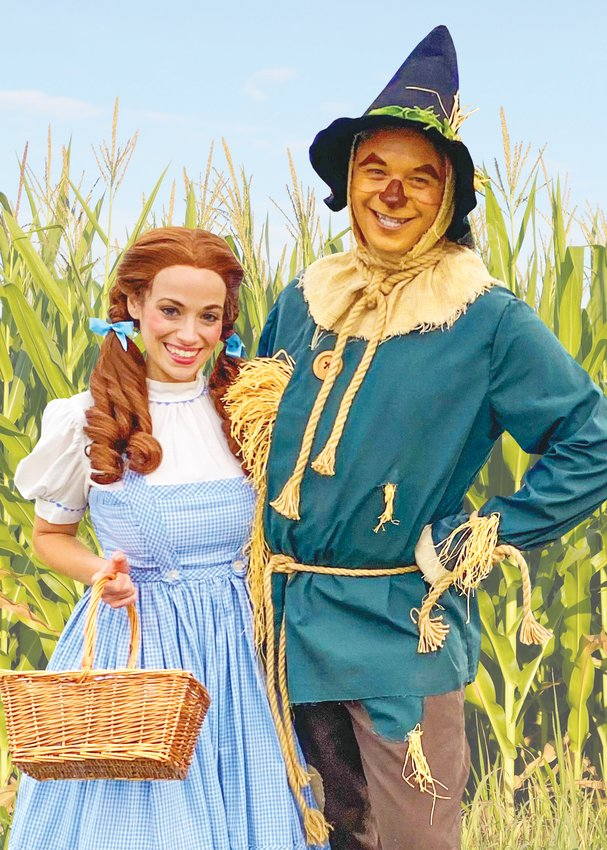 Dorothy and Scarecrow will be in attendance during the Wizard of Oz Days Fall Festival scheduled for Saturday, Oct. 23, in Macon.