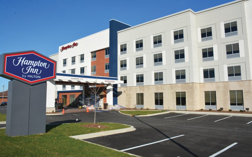 Although the Hampton Inn at Paris was opened with some concern about its success potential, the operation has exceeded all expectations and is now among the top five of all U.S. Hampton Inn facilities. The success has prompted a major expansion after less than a year in operation.