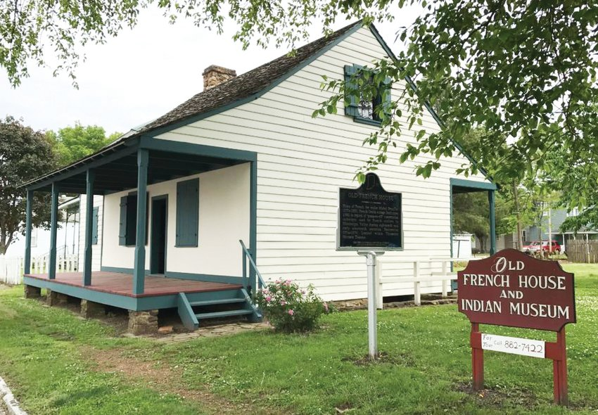 This house in Vincennes, Ind., is a remnant from the era when French fur trappers and traders like Michel Brouillett lived in Vincennes.